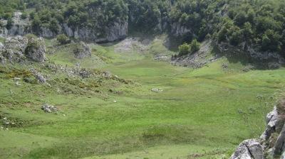 Lago Bricial en verano