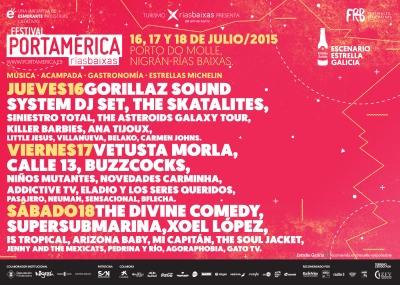 Cartel PortAmérica 2015